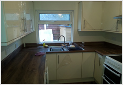 Keld cream kitchen